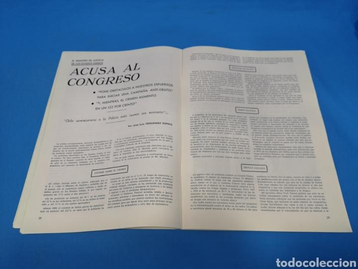 Militaria: REVISTA POLICÍA ESPAÑOLA, NÚMERO 99, AÑO 1970 - Foto 3 - 194771327