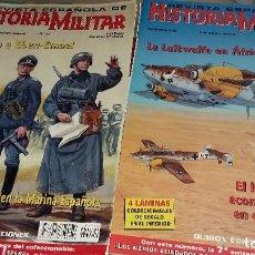 Militaria: 4 REVISTA, FAM HISTORIA MILITAR N 1,FAM FUERZAS MILITARES N 63,REVISTAESPAÑOLA 24 Y 27. Lote 195038303