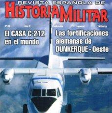 Militaria: REVISTA ESPAÑOLA DE HISTORIA MILITAR NUMERO 88 EL CASA C-212 EN EL MUNDO. Lote 195092670