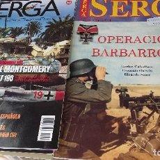 Militaria: 4 REVISTAS SEGA, ESPECIAL N 4 OPERACION BARBAROJA, SEGA 50,54,55 BUEN ESTADO VER FOTOS. Lote 195098270