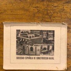 Militaria: EDICIONES EJERCITO, SOCIEDAD ESPAÑOLA DE CONSTRUCCION NAVAL, AÑO 1940. Lote 195130091