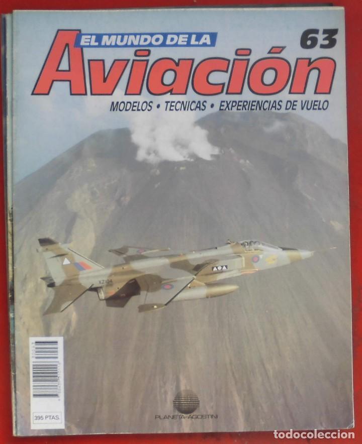 EL MUNDO DE LA AVIACIÓN. PLANETA AGOSTINI. FASCÍCULO Nº 63 (Militar - Revistas y Periódicos Militares)
