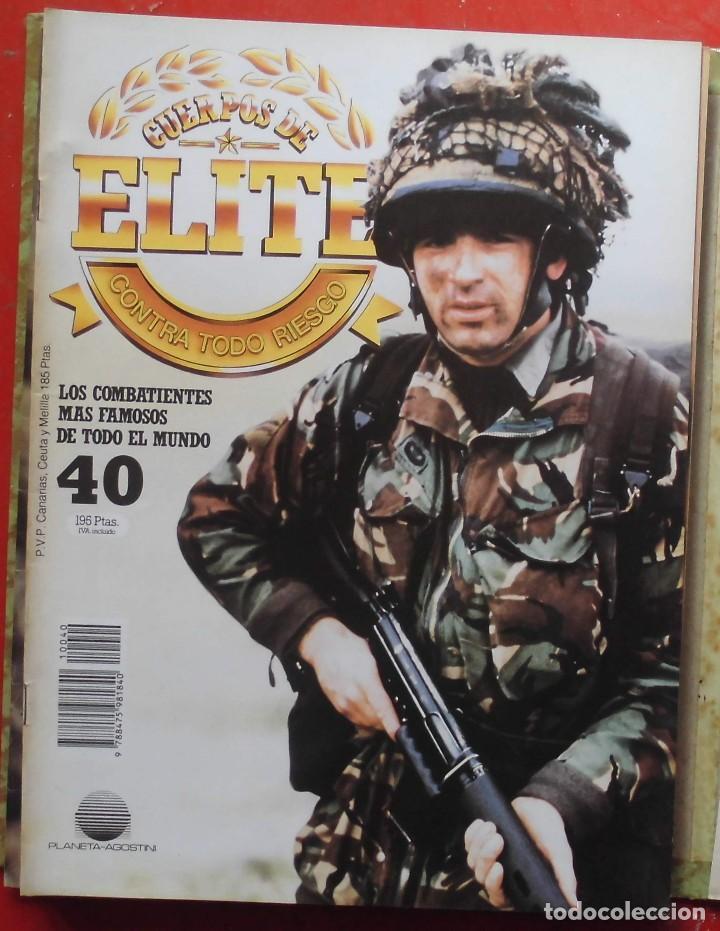 CUERPOS DE ELITE Nº 40 (Militar - Revistas y Periódicos Militares)