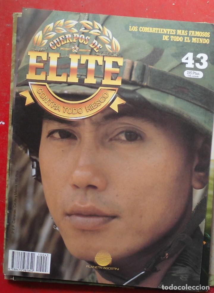 CUERPOS DE ELITE Nº 43 (Militar - Revistas y Periódicos Militares)