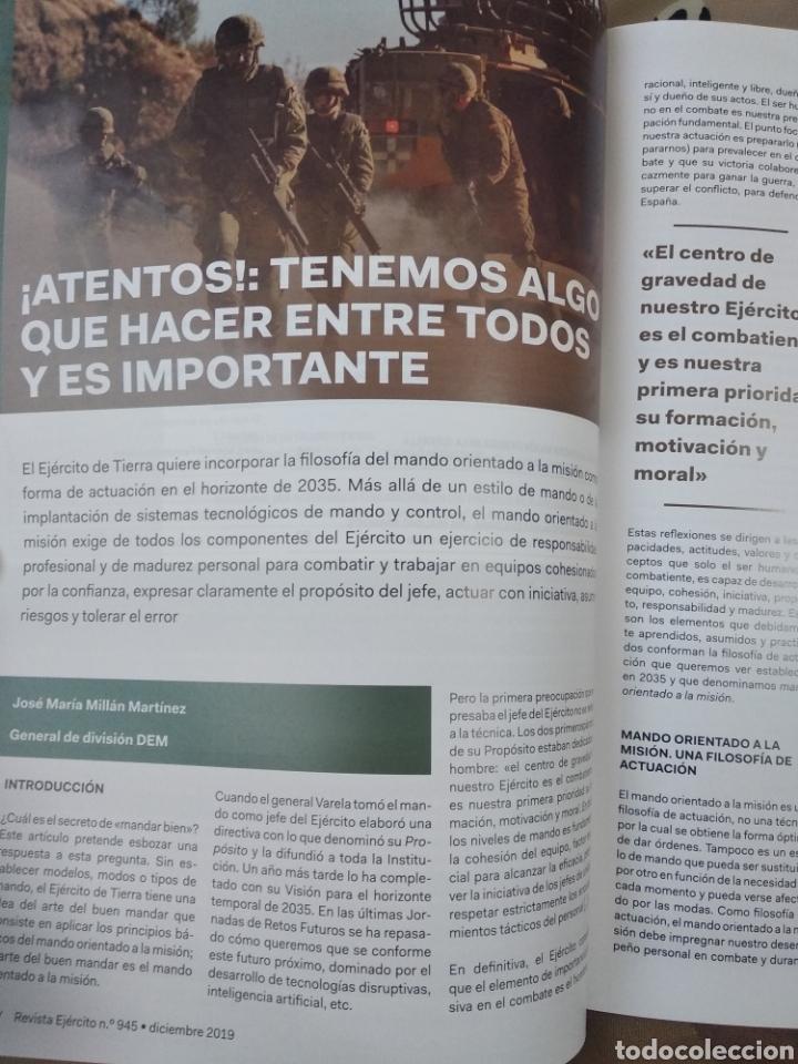 Militaria: REVISTA EJERCÍTO DE TIERRA NÚMERO 945 AÑO 2019 - Foto 2 - 195307815