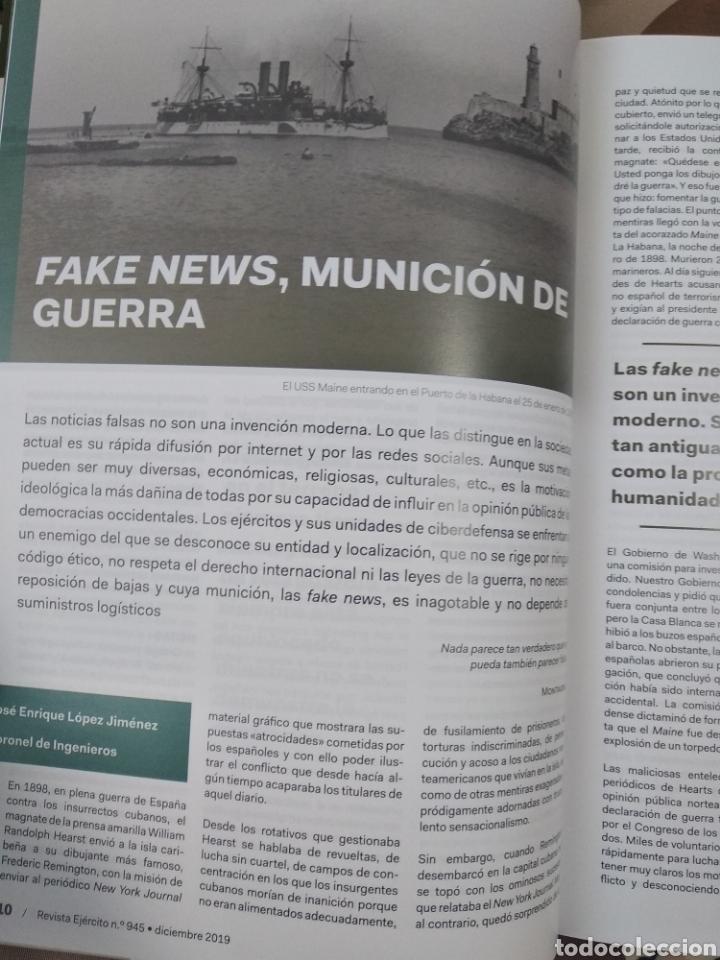 Militaria: REVISTA EJERCÍTO DE TIERRA NÚMERO 945 AÑO 2019 - Foto 3 - 195307815