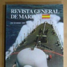 Militaria: REVISTA GENERAL DE MARINA - DICIEMBRE 1997. Lote 195381010
