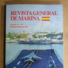 Militaria: REVISTA GENERAL DE MARINA - ENERO-FEBRERO 2001. Lote 195381173