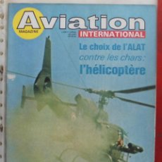 Militaria: AVIATION INTERNATIONAL Nº 684. Lote 195444678