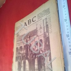 Militaria: TUBAL DIARIO ABC SEVILLA 8 JUNIO 1937 GUERRA CIVIL U21. Lote 195465708