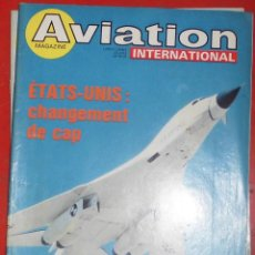 Militaria: AVIATION INTERNATIONAL Nº 722. Lote 195465822
