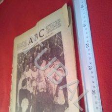 Militaria: TUBAL DIARIO ABC SEVILLA 10 JUNIO 1937 GUERRA CIVIL U21. Lote 195465920