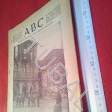 Militaria: TUBAL DIARIO ABC SEVILLA 16 JUNIO 1937 GUERRA CIVIL U21. Lote 195466072