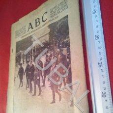 Militaria: TUBAL DIARIO ABC SEVILLA 17 JUNIO 1937 GUERRA CIVIL U21. Lote 195466216