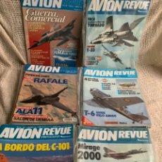 Militaria: AVION REVUE , LOTE 33 EJEMPLARES - REVISTA DE AVIACION. Lote 195515486