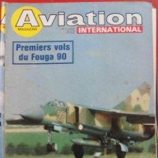 Militaria: AVIATION INTERNATIONAL Nº 738. Lote 195525627