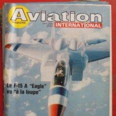 Militaria: AVIATION INTERNATIONAL Nº 742. Lote 195525650