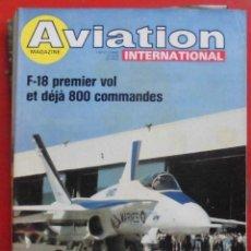 Militaria: AVIATION INTERNATIONAL Nº 746. Lote 195525663