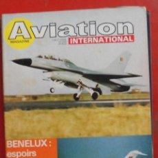 Militaria: AVIATION INTERNATIONAL Nº 750. Lote 195525688