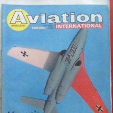 Militaria: AVIATION INTERNATIONAL Nº 800. Lote 195525763