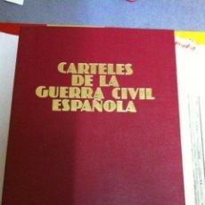 Militaria: LA GUERRA CIVIL ESPAÑOLA - TAPAS Y 110 PORTADAS Y CONTRAPORTADAS (CARTELES PROPAGANDÍSTICOS). Lote 196973595