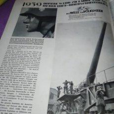 Militaria: PROPAGANDA NAZI RARO ILLUSTRIRTE ZEITUNG LEIPZING 1914 1918 NR 4924 27 JULI 1939 . Lote 197170511