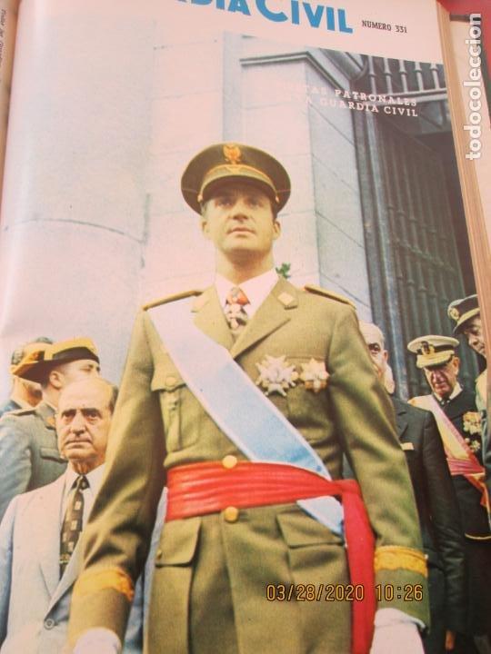 Militaria: GUARDIA CIVIL 12 REVISTAS Nº 321 AL 332 -ENERO -DICIEMBRE 1971 ECUADERNADAS BUEN ESTADO - Foto 5 - 198782163