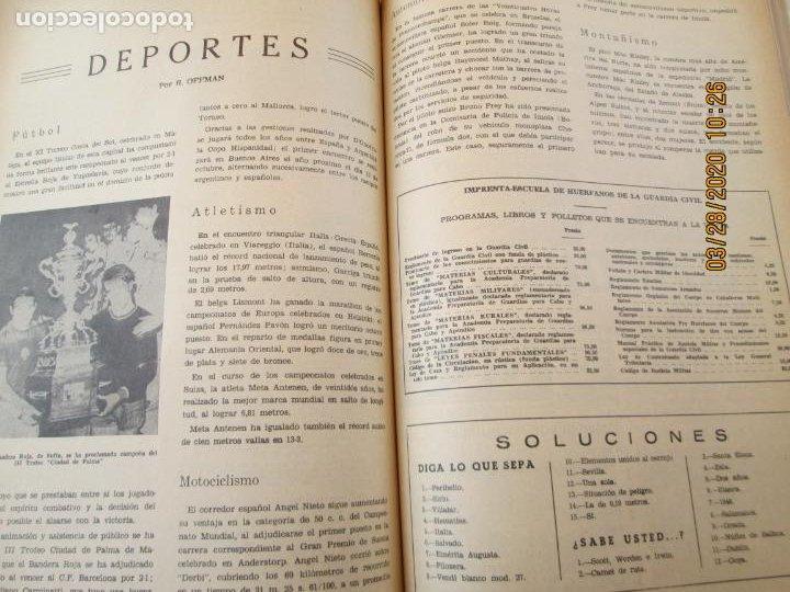 Militaria: GUARDIA CIVIL 12 REVISTAS Nº 321 AL 332 -ENERO -DICIEMBRE 1971 ECUADERNADAS BUEN ESTADO - Foto 6 - 198782163