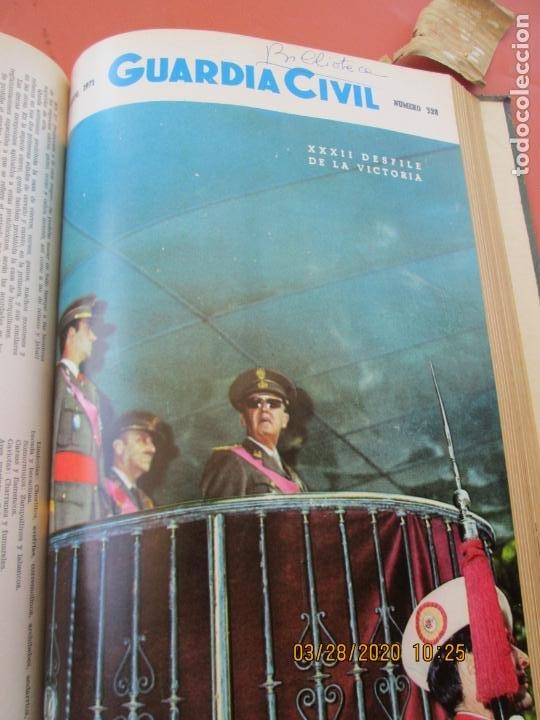 Militaria: GUARDIA CIVIL 12 REVISTAS Nº 321 AL 332 -ENERO -DICIEMBRE 1971 ECUADERNADAS BUEN ESTADO - Foto 9 - 198782163