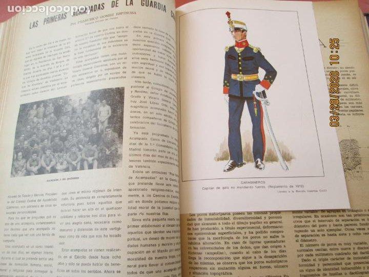 Militaria: GUARDIA CIVIL 12 REVISTAS Nº 321 AL 332 -ENERO -DICIEMBRE 1971 ECUADERNADAS BUEN ESTADO - Foto 12 - 198782163