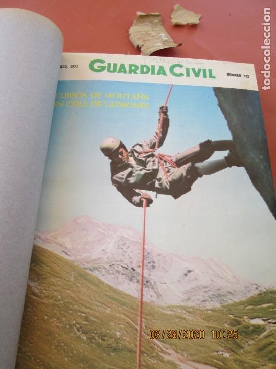 Militaria: GUARDIA CIVIL 12 REVISTAS Nº 321 AL 332 -ENERO -DICIEMBRE 1971 ECUADERNADAS BUEN ESTADO - Foto 16 - 198782163
