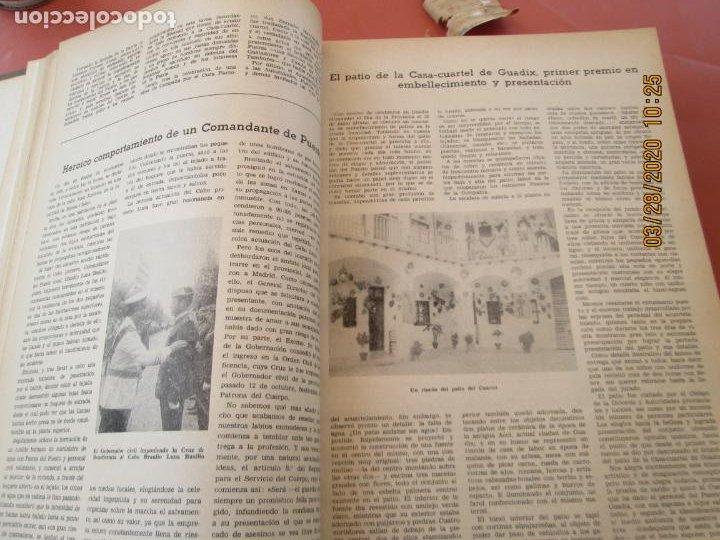 Militaria: GUARDIA CIVIL 12 REVISTAS Nº 321 AL 332 -ENERO -DICIEMBRE 1971 ECUADERNADAS BUEN ESTADO - Foto 17 - 198782163