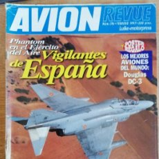 Militaria: AVION REVUE. 176. FEBRERO 1997. Lote 199037506