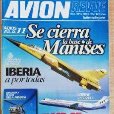Militaria: AVION REVUE. 188. FEBRERO 1998. Lote 199037653