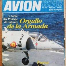 Militaria: AVION REVUE. 144. JUNIO 1994. Lote 199037957