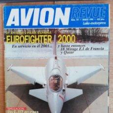 Militaria: AVION REVUE . 141. MARZO 1994. Lote 199038976