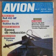 Militaria: AVION REVUE. 131. MAYO 1993. Lote 199039388