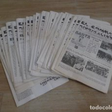 Militaria: LOTE ANTIGUO DE 68 DIARIO LE COMBAT SYNDICALISTA, CNT FRANCIA EXILIO, TRANSICION POLITICA.. Lote 200172732