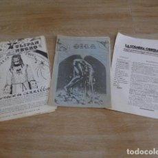 Militaria: LOTE ANTIGUO DE 3 REVISTA RARA DE CNT, TRANSICION POLITICA. VARIEDAD.. Lote 200173847