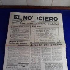Militaria: PERIÓDICO EL NOTICIERO N°11494 AÑO 1937. Lote 201483675