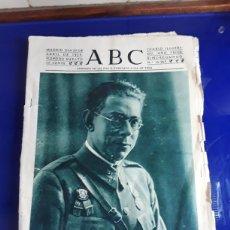 Militaria: PERIÓDICO ABC DE ABRIL DE 1939. Lote 201535377