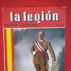 Militaria: LA LEGIÓN , REVISTA DE LOS TERCIOS AÑO 1968 COMPLETO, 12 NÚMEROS.. Lote 202045561