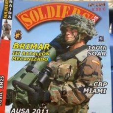 Militaria: 20 REVISTAS DE SOLDIERS RAIDS, REVISTA MILITAR. Lote 202737705