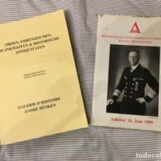 Militaria: CATÁLOGOS IMPORTANTES CASAS DE SUBASTAS MILITARIA ALEMANIA AÑO 89. Lote 202916816
