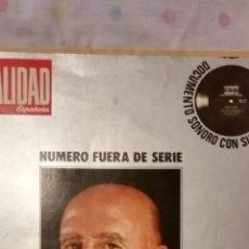 Militaria: REVISTA ACTUALIDAD (ESPECIAL 40 DE LA HISTORIA DE ESPAÑA) FRANCO. Lote 203204941