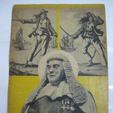 Militaria: BANDOLERISMO INGLES - PROPAGANDA ALEMANA CONTRA INGLATERRA - SEGUNDA GUERRA MUNDIAL 1940. Lote 203232500