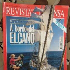 Militaria: REVISTA ESPAÑOLA DE DEFENSA N° 163 2001 JUAN SEBASTIÁN DE ELCANO. ISAAC PERAL. MISIONES INTERNACIONA. Lote 203444736