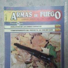 Militaria: REVISTA NUMERO 2 DE LA COLECCIÓN ARMAS DE FUEGO. AÑO 1985. CAZA TIRO DEPORTIVO. MILITAR MILITARES.. Lote 204594132