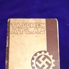Militaria: ATLAS TASCHEN ALEMAN, EPOCA III REICH. Lote 204722141