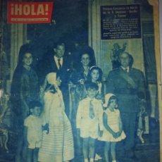 Militaria: HOLA 01/07/1960 FRANCO. Lote 204737517